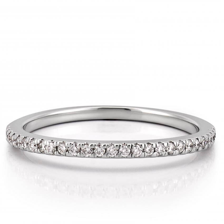 diamond artemer and ring band with carat set minimalist a rings round wedding curved products
