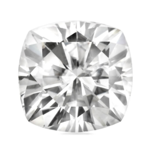 Forever One Cushion Moissanite