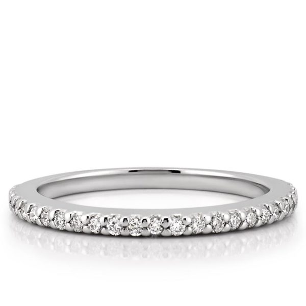 delicate diamond wedding ring