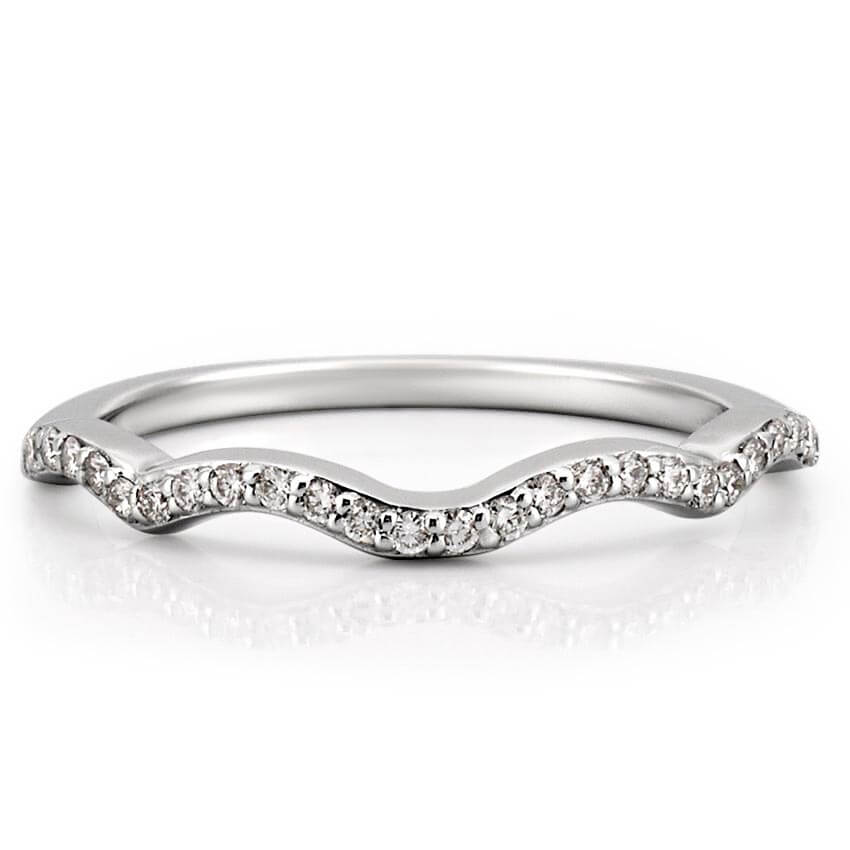 Infinity Wedding Band To Match Engagement Ring Do Amore