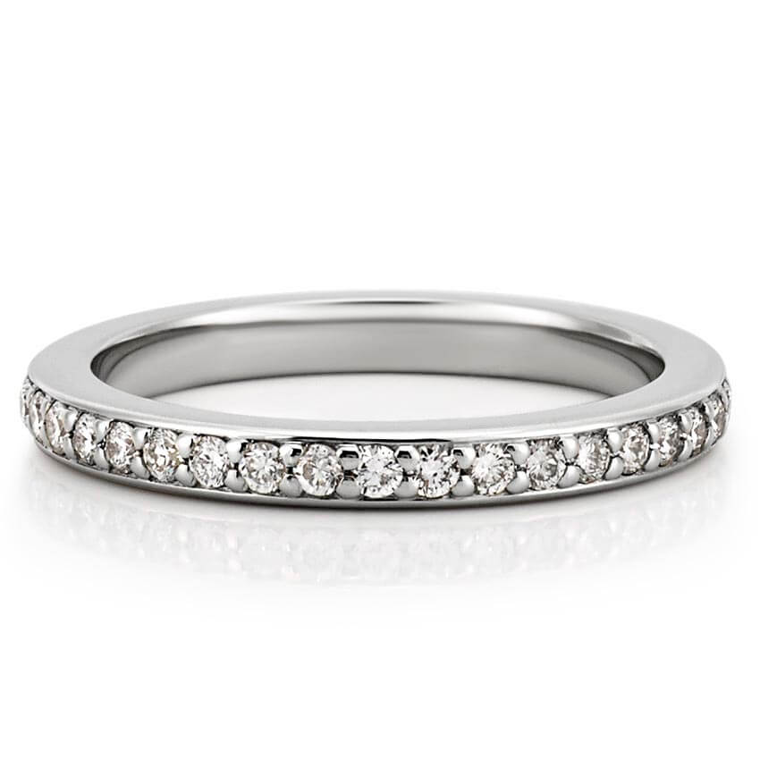henri c domed band pave bands daussi diamond row