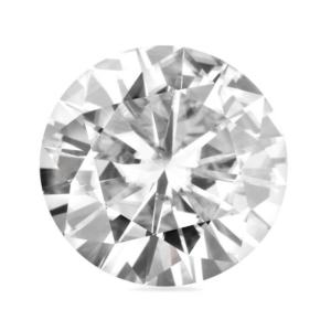 Forever One Round Moissanite