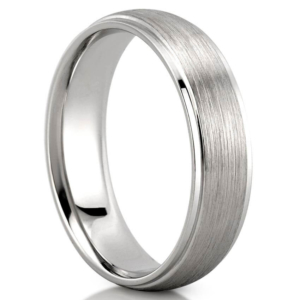Mens wedding band for sensory issues