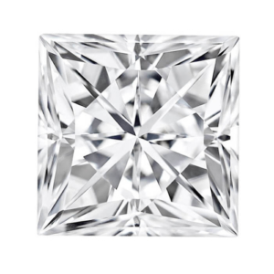Forever One Square Cut Moissanite
