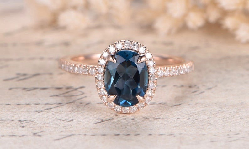 topaz engagement ring 8 on Mohs Hardness Scale