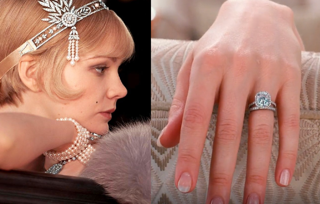 Examples of Deco Jewelry worn during the movie The Great Gatsby